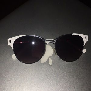 White Jessica Simpson Sunglasses